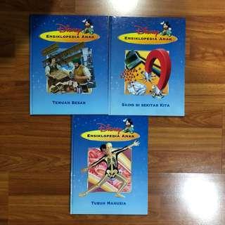 Buku Pengetahuan Anak / Ensiklopedia Anak (Disney) PT. Gramedia
