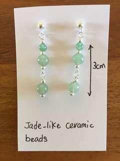 Jade-like Earrings