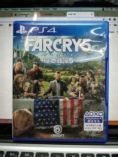 PS4 Frycry 5 中英文版