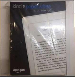 (Free Cover+eBooks) BNIB New Sealed Kindle Paperwhite White