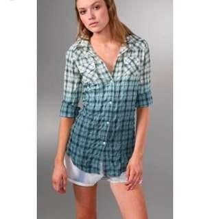Elizabeth and James Button Back Blouse Small
