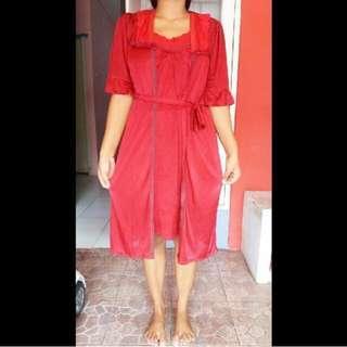 Dress Tidur / Piyama (Inner + Outer)