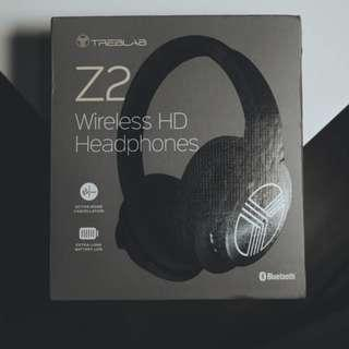 Treblab Z2 | Wireless Active Noise Cancelling Headphones