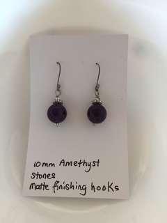Amethyst Stone Earrings