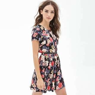 [NEW] Petite Floral Printed Dress
