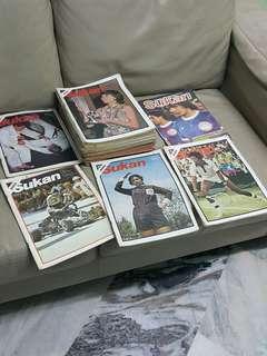 Majalah lama Dunia Sukan tahun 70 an