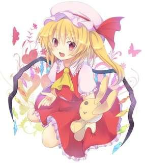 Touhou flandre cosplay costume