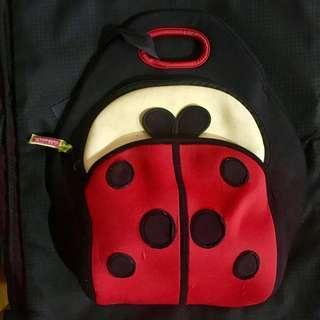 Dabbawalla Ladybug Insulated Lunch Bag Tote