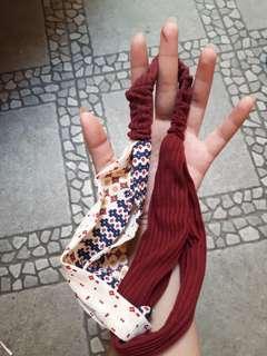 Maroon bandana