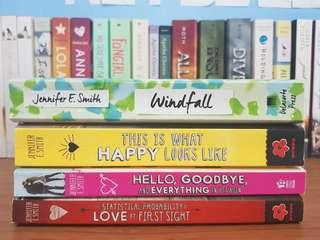 Pre-loved Jennifer E. Smith Books