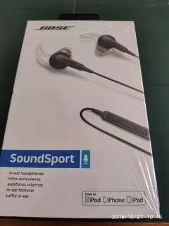 Bose SoundSport MFI BNIB Sealed (iOS version)