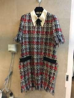 🈹️Gucci Tweed Dress almost new