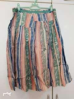 Country Road 100% silk skirt