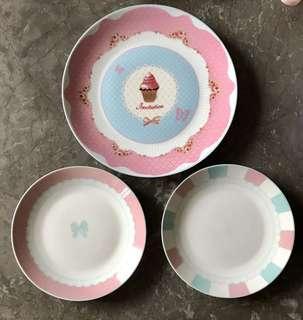 甜美風餐盤