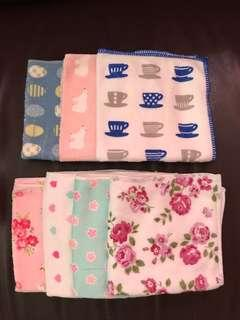 純棉抹布方巾(共7款)