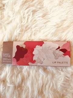 Karen Muller lip palette
