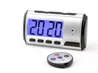 Multi function spy clock