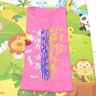 Daster Kain Bali Warna Pink