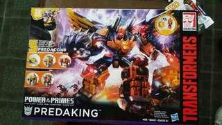 TRANSFORMERS PREDAKING POWER OF THE PRIMES MISB