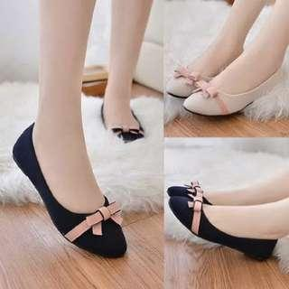 Flat Shoes Ribbon