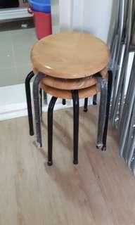 Wood top Stools
