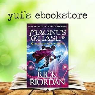 RIORDAN - 9 FROM THE NINE WORLDS - MAGNUS CHASE & THE GUARDS FROM ASGARD