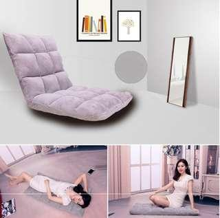 Recline seat floor Chair Foldable lazy sleep bed sofa