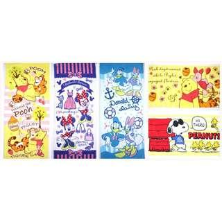 Snoopy Winnie the Pooh Donald Duck Mickey Mouse