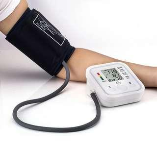 Electronic Blood Pressure Monitor voice function English measure