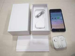 Beautiful Space Grey iPhone 6 Plus, 128GB, Full box