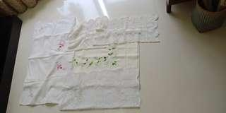 Vintage table Cloth Cover (sell in one lot)