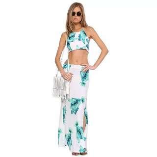 [NEW] Beachwear Dress (top & bottom)