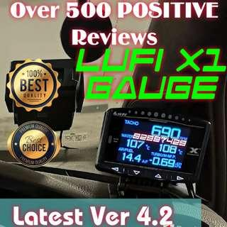 🏆579🏆 positive Reviews Other car made Lufi x1 OBD/OBD2 Gauge cars expo 2018