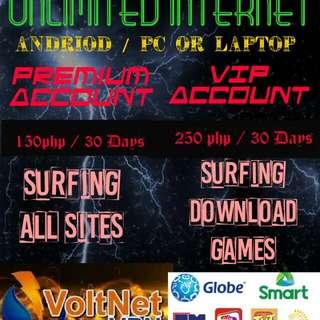 Unli all net.. Access all site..150 for 1month