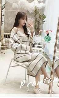 Brand New Knit Dress and Cardigan