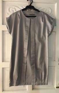 Grey Shift Dress [M-XL]