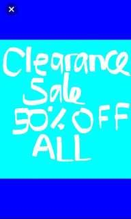 🔥🔥50% off all