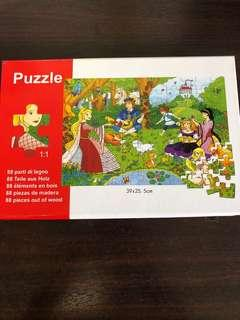 Opened but not used puzzle 88 pieces