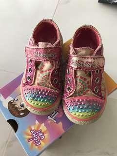 Preloved Skechers Twinkle Toes