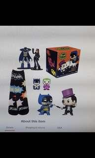 Funko Pop 2 Pack Batman box
