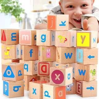 ABC Combination Building Blocks