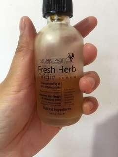 natural pasific fresh herb serum