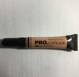 LA Girl Pro Conceal peach colour corrector