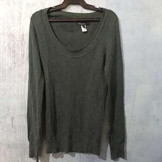 Pre-Loved MANGO BASICS Longsleeve knitted Top