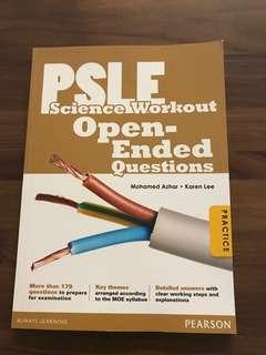 PSLE Science Workout Open-Ended Questions