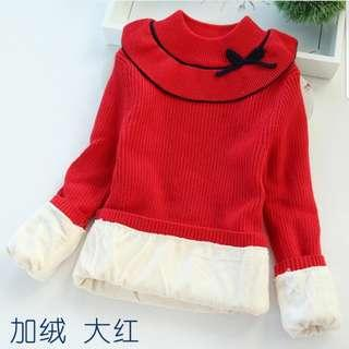 BN Red Sweater (11 years old)