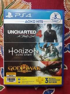 PS4 Used Games Uncharted Horizon