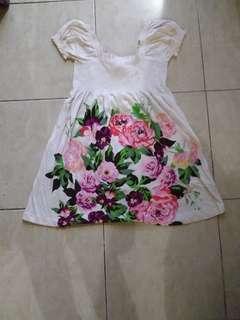 Dress flowers hnm h&m