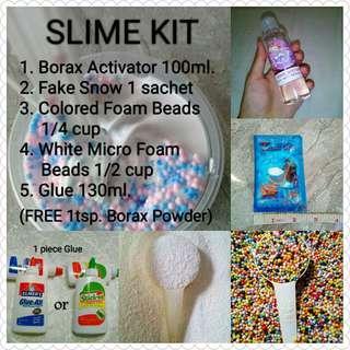 Slime Kit with FREE Borax powder (1 tsp)