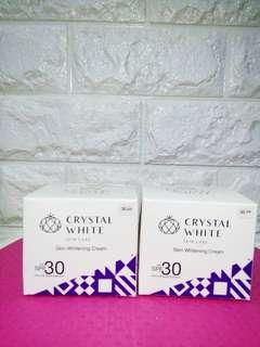 CRYSTAL WHITE SKIN WHITENING CREAM w/ SPF30